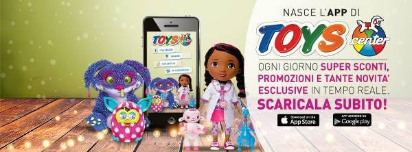 Toys Center è accessibile ovunque grazie alle App per dispositivi mobile