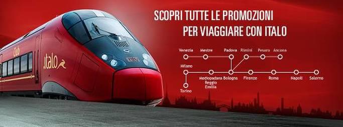 Il tuo viaggio a prezzi speciali con Italo