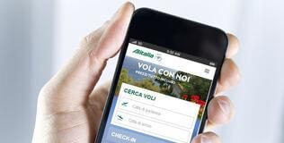 Accedere ai servizi Alitalia da dispositivi mobile