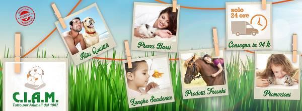Tutto il necessario per la cura dei propri animali domestici su CIAM