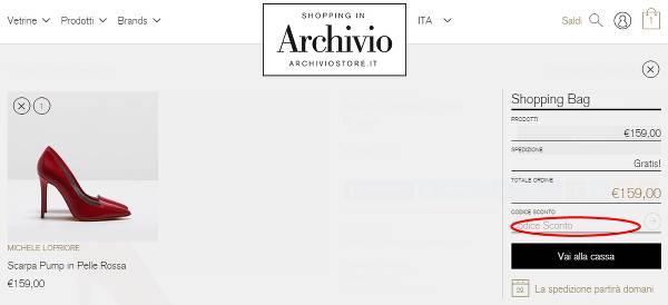 Godi dell'eccellenza risparmiando grazie a un codice sconto Archivio Store