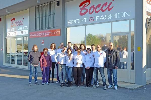 Il team di uno dei negozi BocciSport