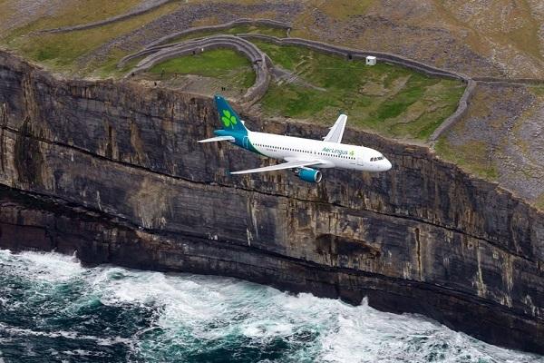 Un aereo Aer Lingus nel 2019