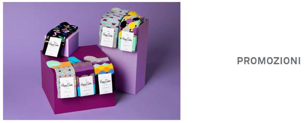 Happy Socks promozioni nella sezione Outlet