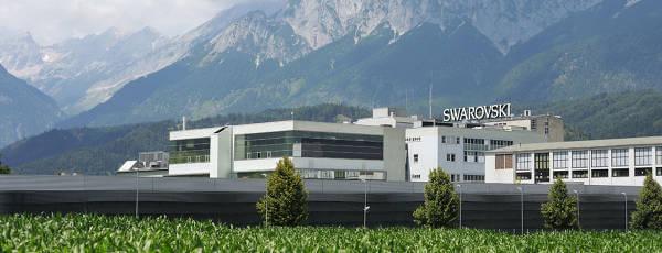 Lo stabilimento Swarovski