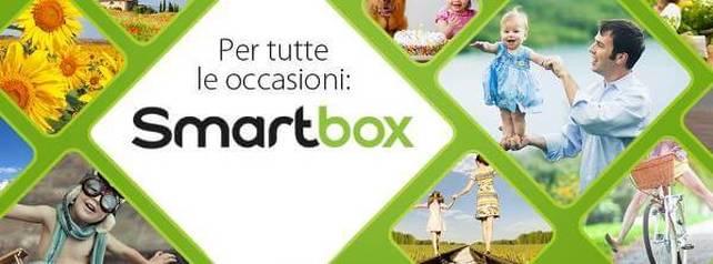 Smartbox,tante attività a scelta.