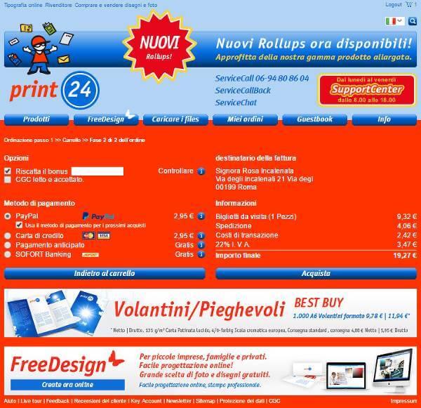 Come risparmiare grazie ad un codice sconto su Print24