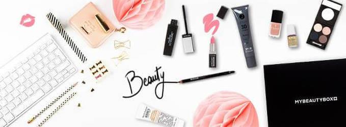 Alcuni articoli di cosmetici e bellezza