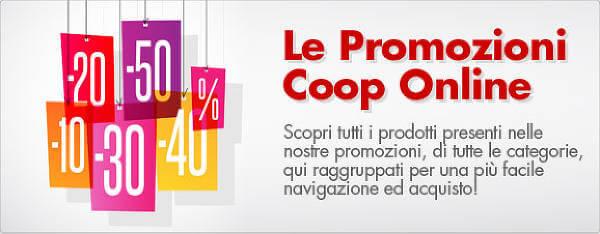 Risparmiare grazie alle promozioni Coop Online
