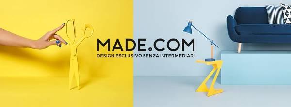 Il grande design alla portata di tutti con MADE.COM