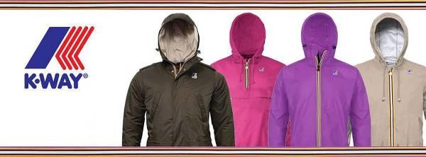Le giacche che hanno reso famoso il marchio K-Way