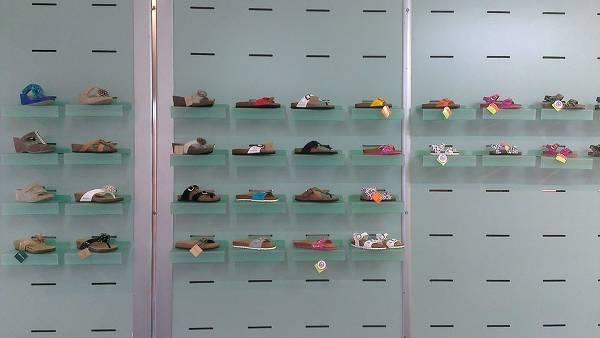 Foto di una vetrina del negozio fisico di BocciSport