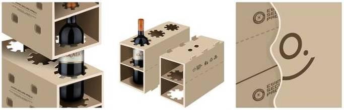 Il sistema Ewine Secure Pack per la spedizione di vino