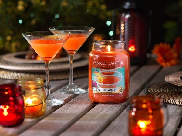 Aroma Passion Fruit Martini
