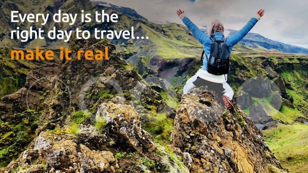 ogni giorno é il giorno giusto per viaggiare: fallo diventare reale