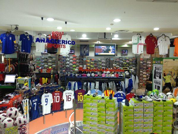 Anaclerico Sports punto vendita