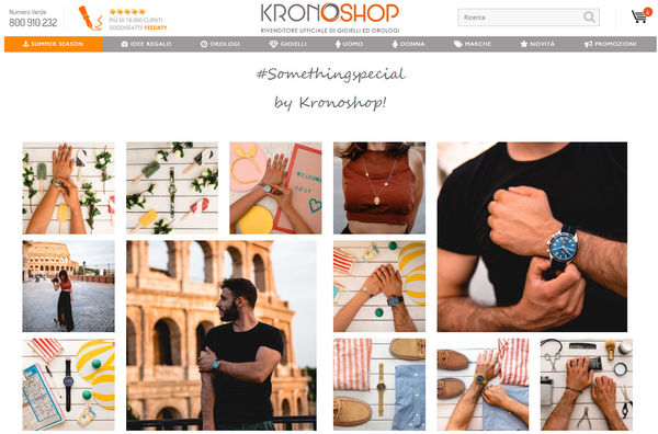 gioielleria online kronoshop