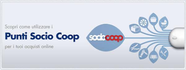 Utilizzare i Punti Socio Coop anche Online
