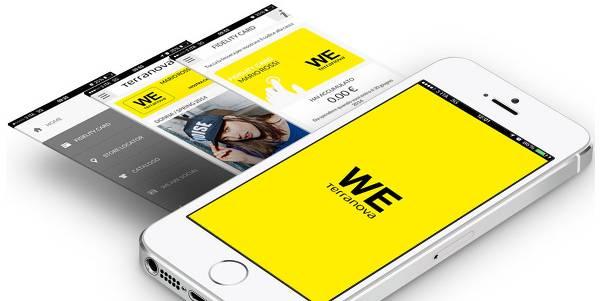WE Terranova: la fidelity card digitale che premia i tuoi acquisti