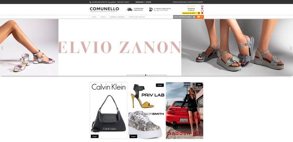 homepage nel negozio online Comunello comunelloshop.it
