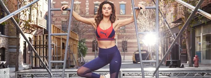 Un outfit sportivo Puma da donna