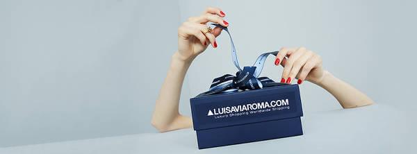 Regalare la moda di lusso con le Gift Card LUISAVIAROMA.COM