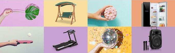 Alcuni dei prodotti commercializzati