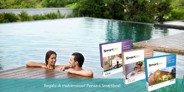 Con Smartbox potrai fare un regalo speciale quanto l'occasione