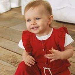 Abbigliamento per neonato.