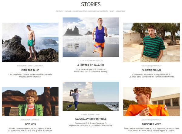Stories Colmar collezioni