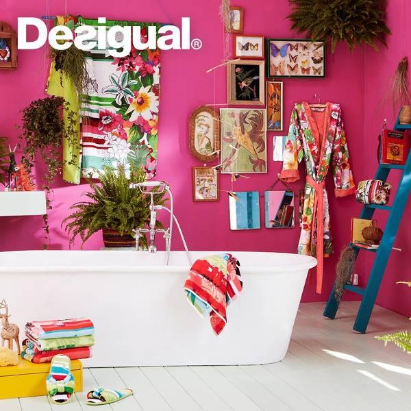 La linea di prodotti e accessori per la casa Desigual
