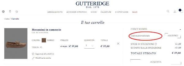 Come risparmiare con un codice sconto Gutteridge