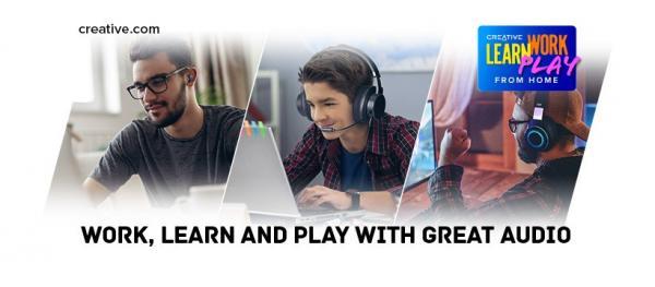 un sound perfetto per lavoro scuola e gioco
