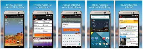 La app mobile Opodo per Android, per accedere al portale ovunque tu sia