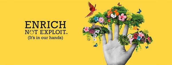 campagna ambientalmente e socialmente responsabile di The Body Shop Enrich not Exploit