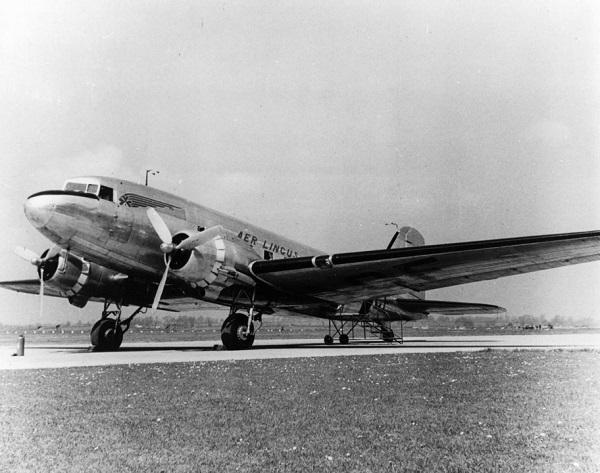 Uno tra i primi aerei Aer Lingus