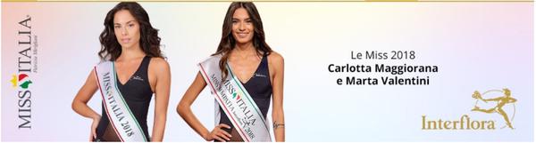 Interflora sponsor ufficiale di Miss Italia