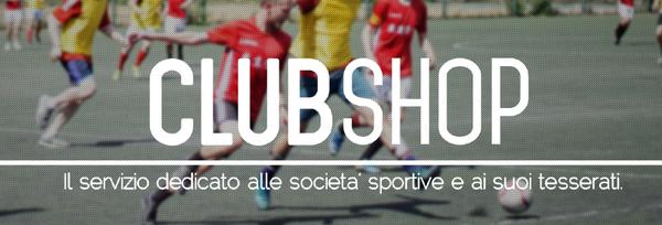 CalcioShop.it servizio Clubshop