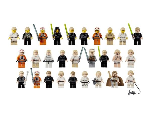 Vasta scelta di personaggi LEGO Starwars
