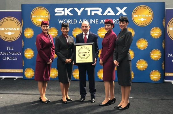 2019 Skytrax World Airline Awards Qatar Airways