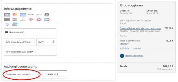 Prenotare risparmiando con un codice sconto Barceló