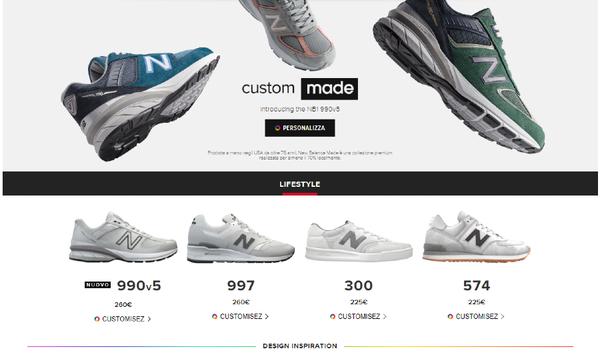 come personalizzare scarpe New Balance