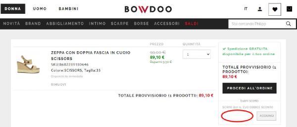 Come risparmiare con un codice sconto Bowdoo