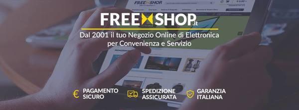 Freeshop pagamento spedizione garanzia italiana